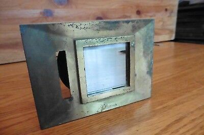 Vintage Brass Door Peep Hole by Magic Mirror Associates NY New York City Salvage