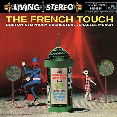 RCA   Charles Munch & Boston Symphony Orchestra - The French Touch 200g LP