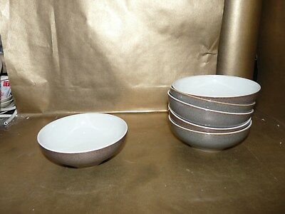 """denby greystone small cereal / soup bowl 5.75"""" diameter"""