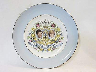 Vintage Commemorative Diana & Charles Engagement Wedding Plate July 29th 1981