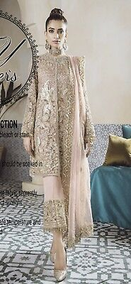 Indian /Pakistani Embroidered Salwar Kameez Modern Wear Suit/Dress