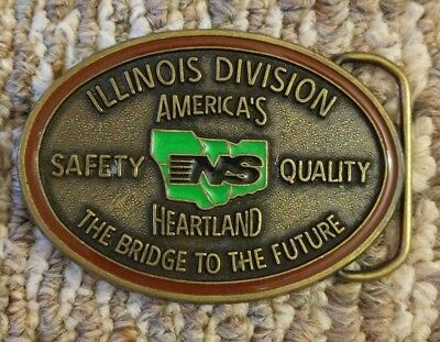 Norfolk Southern NS Illinois Division Safety Quality Belt Buckle