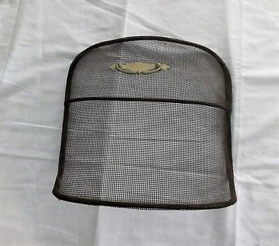 Small Vintage Fireplace Stove Coal Heater Screen, 14.5 in X 14.5 in X 5. in Deep