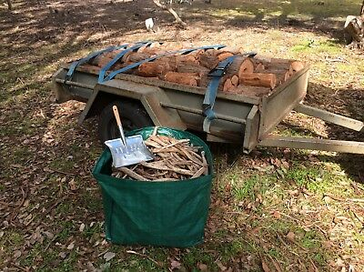 6x4 Trailer Load Firewood Free Delivery Melb Metro* + Dustpan & Bag of Starters