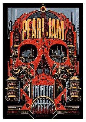 Pearl Jam Iron On Transfer For T-Shirt & Other Light Color Fabrics #2