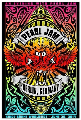 Pearl Jam Iron On Transfer For T-Shirt & Other Light Color Fabrics #4