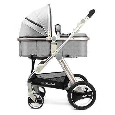 2018 Baby Stroller Newborn Carriage Infant Travel Foldable Pram Pushchair