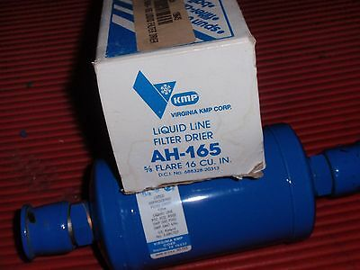Virginia Kmp Refrigeration Products Liquid Line Filter Drier Ah-165 5/8 Inch