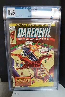 Daredevil #132 (8.5) VF+ 2nd Bullseye Appearance 1976 Bronze Age Key Issue