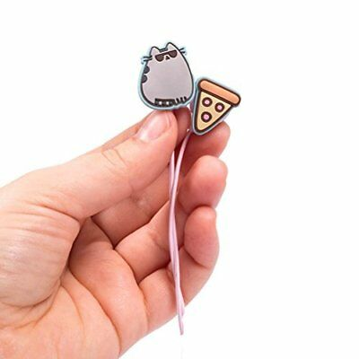 Pusheen Auricolari ufficiali Ear Buds - Pizza and Sunglasses Design (s4x)