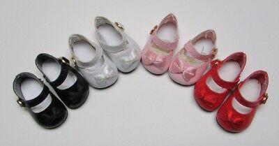 """Doll Shoes, 85mm Red Patent for Chatty Cathy My Twinn Toddler Baby 20"""""""