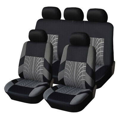 Universal Car SUV Polyester Fiber Seat Cover Breathable Comfortable Full Covers