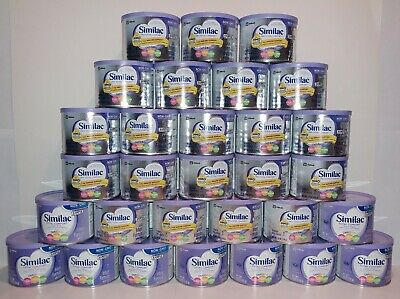 SIMILAC TOTAL COMFORT INFANT FORMULA NON-GMO WITH IRON LOT OF 30-7.6oz CAN'S