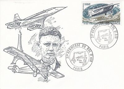 CC182) 1977 Kermesse From The Air Bowl - Charles Lindbergh CONCORDE