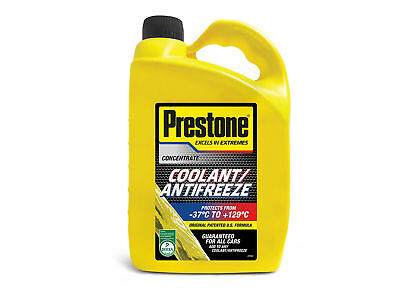 Prestone Concentrated Antifreeze Coolant Extended Life 4L