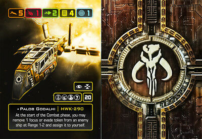 X-Wing Miniatures - Custom Alt Card - Palob Godalhi (HWK-290)