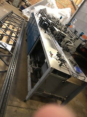 Cmc 2500 Equipment, Poly Wrapping System, Spares Or Repair