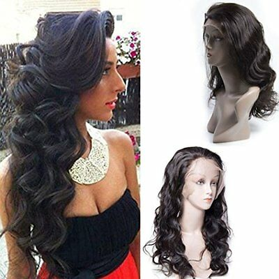 Maxine Human Hair Lace Front Wigs Unprocessed Virgin (14 inch lace front wig)