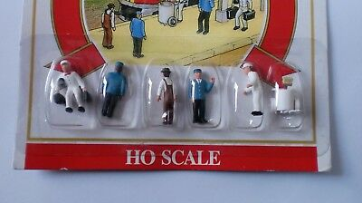 Model Power Ho - Personaggi Per Modellismo Ferroviario 5709