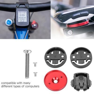 Bicycle Accessories Stopwatch GPS Stem Top Cap Holder Mountain Bike Accessory