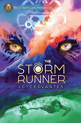 The Storm Runner by J. C. Cervantes (2018, Hardcover)