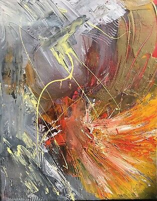 Abstract Oil Painting Artist