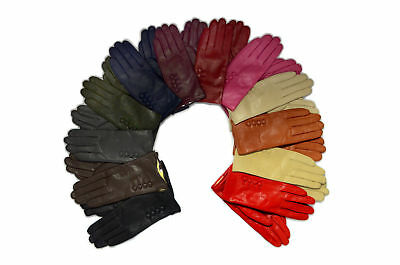 Ladies Gloves Winter Driving Fur Lined Womens Premium Super Soft Real Leather UK