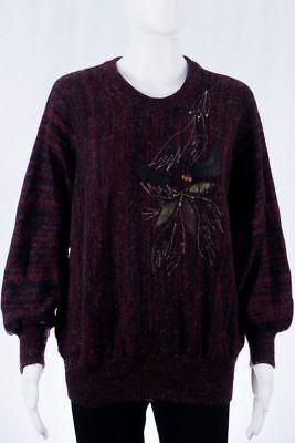 80s Vintage Pullover S M cosy Pasu Jumper Sweater Boho Hipster 90s