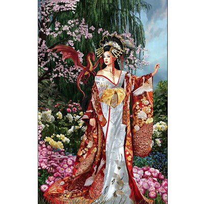 Lady Full Drill 5D DIY Diamond Painting Embroidery Cross Crafts Stitch Kit Decor