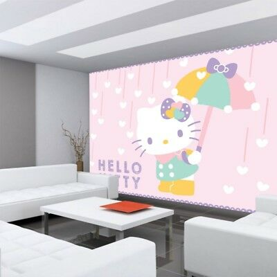 Fleece Photo Wallpaper No. 4481! Children & Youth Sanrio Hello Kitty Cartoo