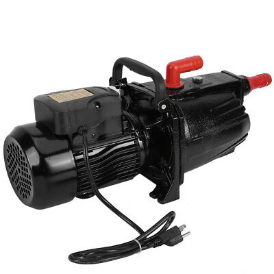 Shallow Well Jet Pump 2.0HP 20 GPM Cast iron Full Copper 110V 60HZ Noiseless OY