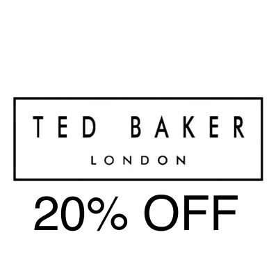 20% Off 'Ted Baker' Discount Code