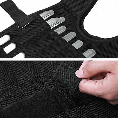 Adjustable Weighted Vest Workout Exerciser for Boxing Training Fitness PL