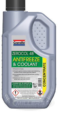 Granville GREEN Car Antifreeze Summer Coolant Concentrate Long Life 1L