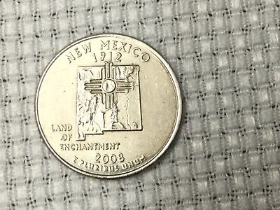 2008D New Mexico State Quarter