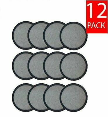 12-Replacement Charcoal Water Filters for Mr. Coffee Machines by Teklectric