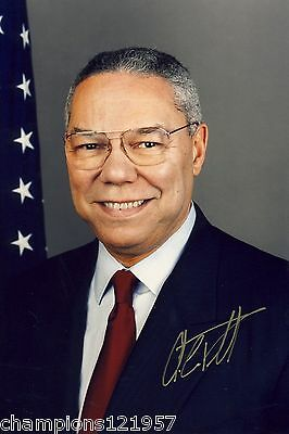 Colin Powell +Autogramm++ ++US Minister++