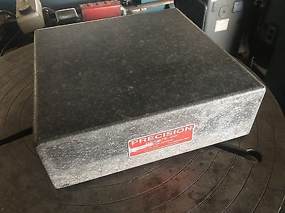 "Precision Granite Co. Surface Plate 12"" x 12"" x 4"""