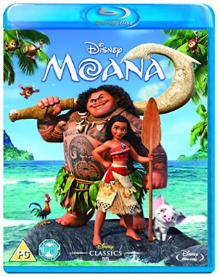 Moana Bd Retail DVD NEW