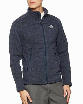 The NORTH FACE Herren FLEECE JACKE Gr S 44 46 NAVY Fleecejacke Triclimate Apex