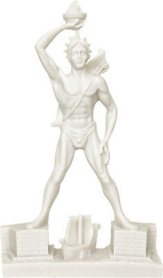 Colossus of Rhodes God of Sun Helios Alabaster statue / sculpture 39cm / 27.16in