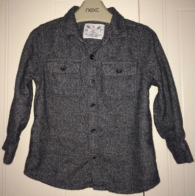 Boys 18-24 Months - Next 2016 - Soft Feel Grey Shirt - In Immaculate Condition
