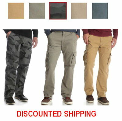 e74dc3b9 NEW MENS WRANGLER Relaxed Fit Cargo Pant with Stretch - $30.99 ...