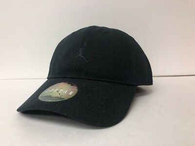 ... lace up in 44c19 3bc95 Jordan Heritage 86 Jumpman Air Adjustable Hat  847143 010 Black ... b8afc66060c