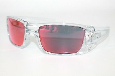 5447fe9bf0 Oakley Fuel Cell Sunglasses OO9096-H6 Polished Clear Frame W  Torch Iridium  Lens