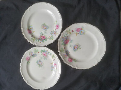 Lot Of Three(3) Edwin M. Knowles China Saucer 35-5