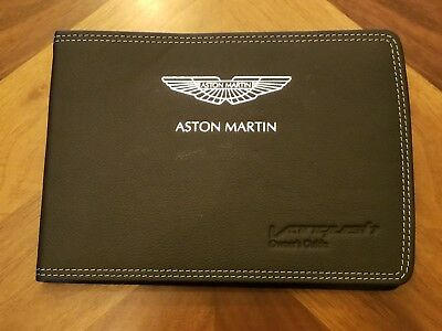 2014 Aston Martin Vanquish Owners Manual , Unmarked, Part# Ed33-19A321-Hb   Tm