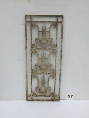 Antique Egyptian Architectural Wrought Iron Panel Grate (IS-057)