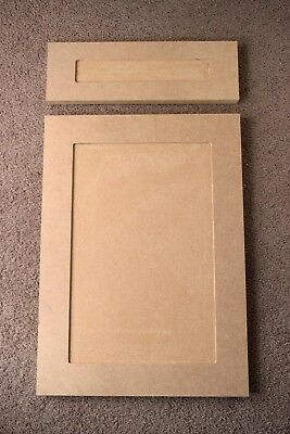 Custom Mdf Cabinets Doors Replacement And Drawer Fronts Shaker Style