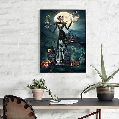 Halloween Full Drill 5D Diamond DIY Painting Craft Home Decor With Drawing Tool